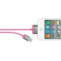 Kabel USB-30pin iPhone 4-4S, 2m pink